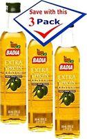 Badia Extra Virgin Olive Oil. 500 mL. Pack of 3