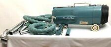 Vintage Electrolux Model L Teal Blue Green Vacuum Attachments Hoses Mid Century