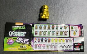 Ooshies TMNT Teenage Mutant Ninja Turtles 7 Pack Exclusive Shredder Gold Ltd