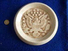 Unusual American / USA – President pottery / porcelain plate – J Kennedy 1975