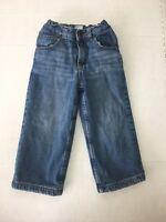 Boys Healthtex Fleece Lined Jeans Size 2T Winter Adjustable Waist