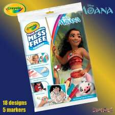 Crayola Disney Moana Color Wonder Mess Free Magic Colouring Book & Pens Set