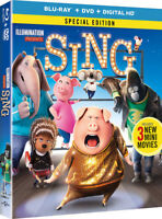 Sing [New Blu-ray] With DVD, Special Edition, 2 Pack, Digitally Mastered In Hd