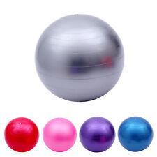 45cm Fitness Exercise Gym Ball Yoga Core Ball Abdominal Back Leg Workout UK