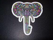 "MANIK APPAREL Art Sticker 3.25"" ELEPHANT PRPL skate skateboard from poster print"