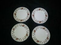 4-Sheffield Porcelain Fine China Anniversary Dessert/Salad/Side Plate 6.5""