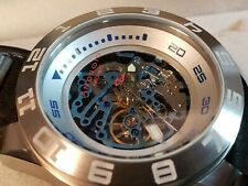 🎅🎅BNIB ANDROID AUTOMATIC SKELETON WATCH AD674 SEAGULL TY2809 LEATHER BAND🎅🎅