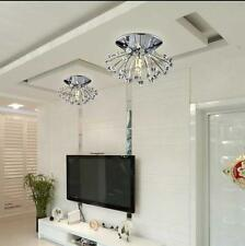 1PCS Crystal Pendant Lamp Lighting Rain Drop Ceiling small Chandelier Dandelion