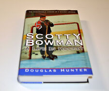 SCOTTY BOWMAN: A LIFE IN HOCKEY HARDBACK BOOK WITH DUST COVER JACKET RED WINGS