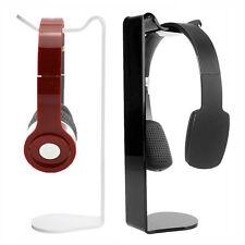 Neu Kopfhörer Headset Tisch Ständer Halterung Halter Hänger Desktop Display Rack