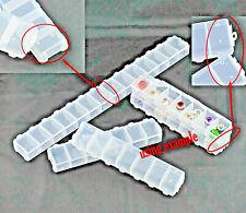 Sortierbox mit Deckel 7 Fächer Aufbewahrung Perlen Pailetten Rocailles *