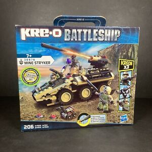 Kreo Battleship Movie 38976 Mine Stryker Building Block Set 206 Piece Toy NEW