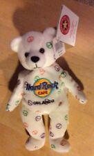 Herrington Teddy Bear Hard Rock Cafe Peace Sign Key West Collectable Bear 2004