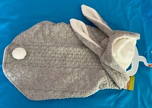 Top Paw Pet Dog Grey Bunny Hoodie/Costume