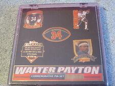 5 Walter Payton pin set Chicago Bears SWEETNESS limited edition New football