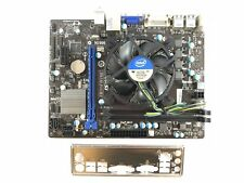 SCHEDA MADRE MSI H61M-P31/W8 H61 DDR3, DVI, SOCKET LGA 1155 Micro ATX + COOLER