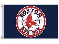 Boston Red Sox 3x5 Ft Logo Flag Baseball New In Packaging MLB