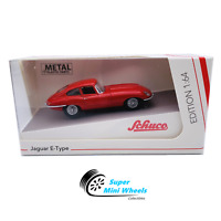 Schuco 1:64 Jaguar E-Type Coupe (Red) Diecast Model Car