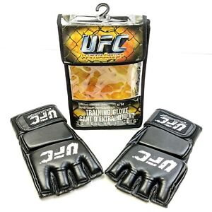 Official UFC MMA Training Gloves Ultimate Fighting Size S/M Zuffa 2007