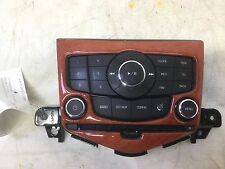 11-14 CHEVROLE CRUZE RADIO CONTROL PANEL UNIT AM FM XM CD ROM MP3 OEM D 91A