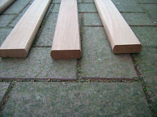 Replacement garden bench slats MAHOGANY(Sapele) sanded finish. Other sizes made