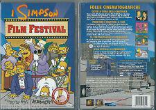 I Simpson. Film Festival (2001) DVD NUOVO SIGILLATO ORIGINALE Animazione