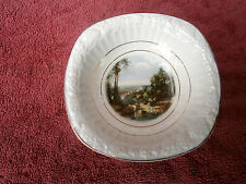 """VINTAGE  JAMES  KENT  """"CROSSING THE BROOK""""  BY  TURNER FINE CHINA  CEREAL  PLATE"""