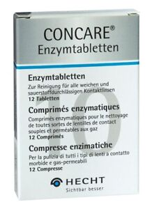 Concare Enzymtabletten (12 Tabs) Proteinentfernung von Hecht