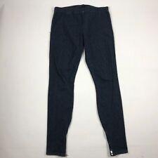 Joe's Jeans Womens Dark Wash The Legging Zippered Hem Pants Jeans sz. Medium