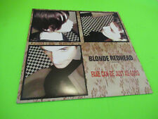 BLONDE REDHEAD FAKE CAN BE JUST AS GOOD LP