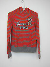 Abercrombie & Fitch Graphic Pullover Hoodie - Women's Small - Red - NWT