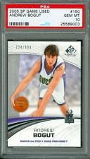 2005 SP Game Used /999 Andrew Bogut #150 PSA 10 Rookie Warriors