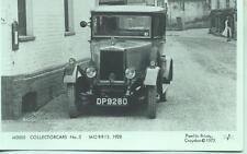 Pamlin repro photo postcard M2005 1928 Morris Motor Car