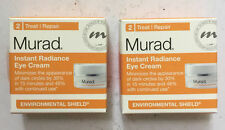 Lot Of 2 Murad Instant Radiance Eye Cream 0.12 oz Each -  NIB