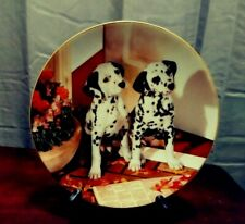 Spotted In The Headlines. Those Delightful Dalmatians Plate Collections.Euc.