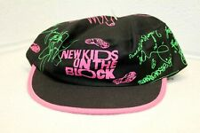 Vintage Nos New Kids On The Block Snapback Painters Cap Hat Usa Made Mint!
