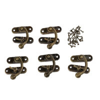 5 Sets Bronze Swing Bag Clasp / Box Latch DIY Jewelry Box Supplies