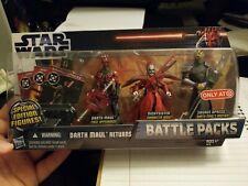 Star Wars Battle Packs Darth Maul Returns - Night Sister & Opress Target