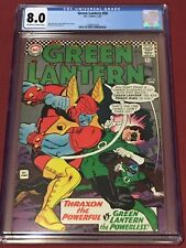 GREEN LANTERN 50 CGC 8.0 Broome Fox Kane 1967