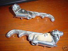 Old School BMX Silver 2 (two) Finger Brake Lever Set Tech 3 Style