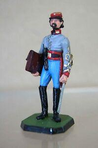 ROSE MINIATURES SOLDIERS AMERICAN CIVIL WAR CONFEDERATE ARTILLERY OFFICER 1861 m