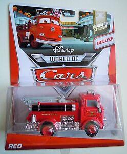 CARS - RED - Mattel Disney Pixar