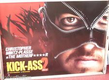 Cinema Poster: KICK-ASS 2 2013 (The Motherf****r Quad) Christopher Mintz-Plasse