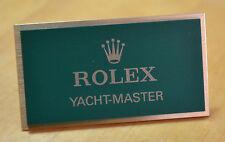 Finestra di visualizzazione Rolex PLACCA DISPLAY ESPOSITORE Yacht-Master NUOVO OEM
