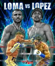 Vasyl Lomachenko vs Teofimo Lopez 4LUVofBOXING Posters New Boxing gym wall art