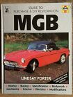 MGB - Guide to Purchase and DIY Restoration,Lindsay Porter