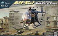 Kitty Hawk Models 1/35 US AH-6J Little Bird Nightstalkers Helicopter