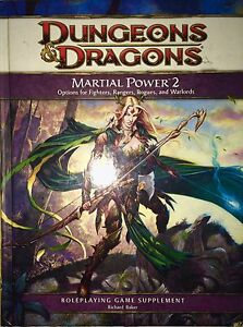 Dungeons and Dragons 4th Edition Martial Power 2