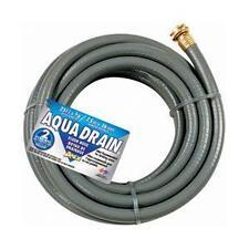 "[828VR-25] Teknor Apex Aqua Drain Flush Grey Water Drain Hose 5/8""x25'"