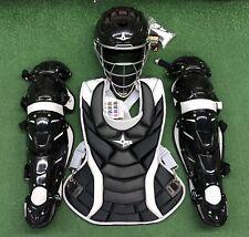 All Star Vela Adult Fastpitch Softball Catchers Gear Set - Black